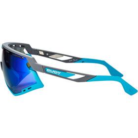 Rudy Project Defender Glasses pyombo matte/azur/multilaser blue